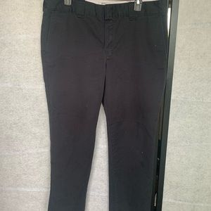 Men's black dickie pants